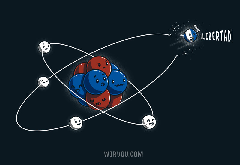 átomo, electrón, catión, ión, braveheart, william wallace, gracioso, divertido