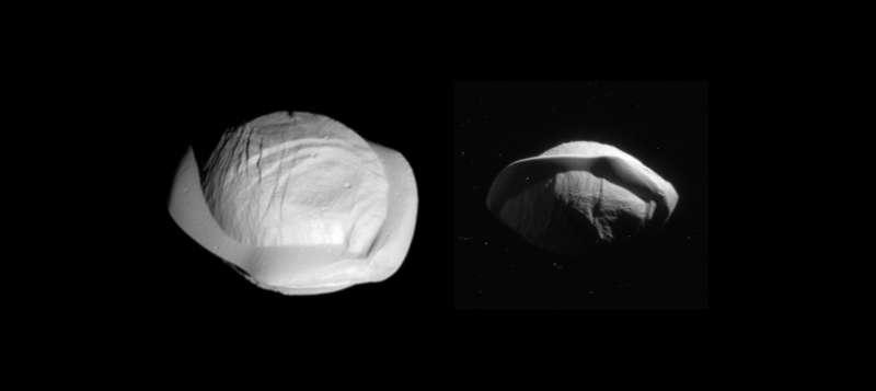 Luna Pan en Saturno