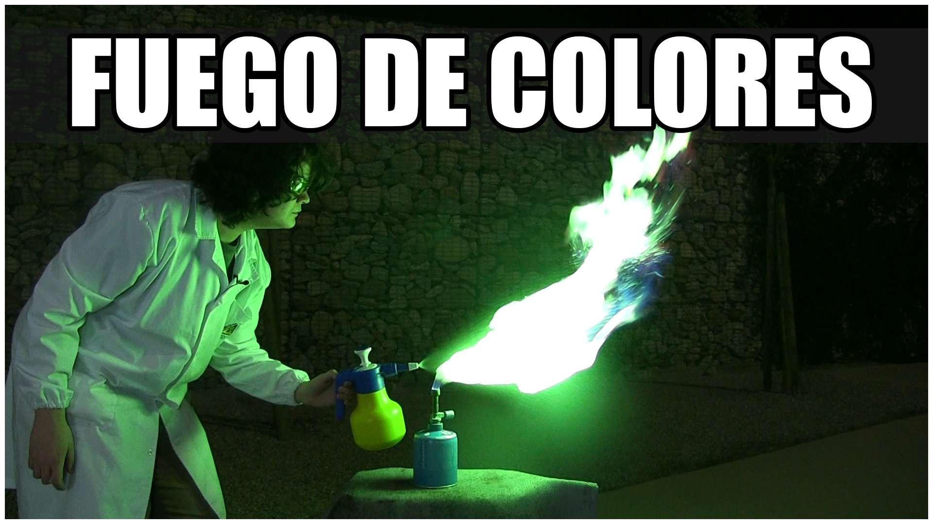 Fuego de colores!