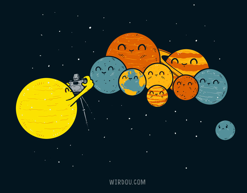planetas, sistema solar, ciencia, divertida, gracioso, universo, plutón, planeta enano