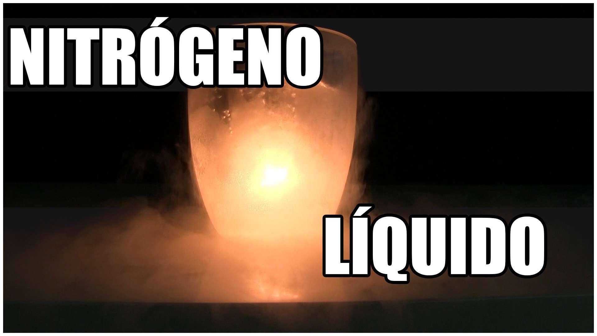 Nitrógeno líquido