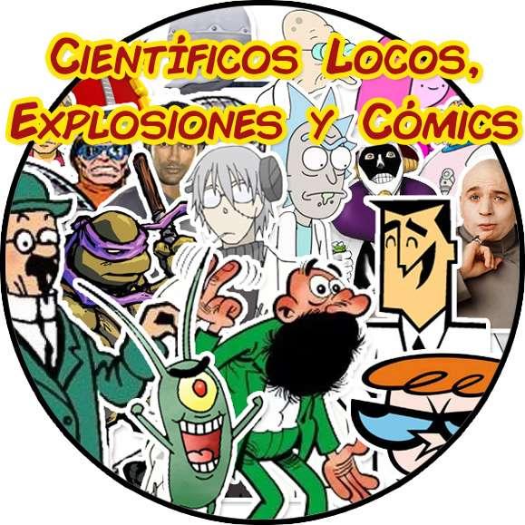 científicos locos y cómics