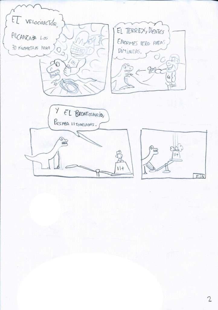 scenio, bilbao, comic científico, concurso, dinosarios