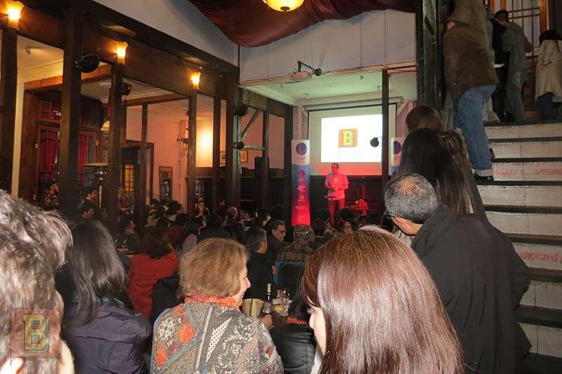 Bardo en la Peluquería Francesa de Santiago de Chile
