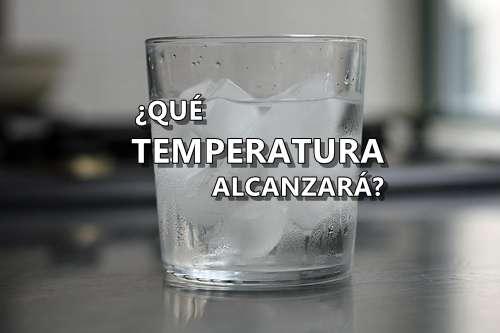 temperatura hielo frío