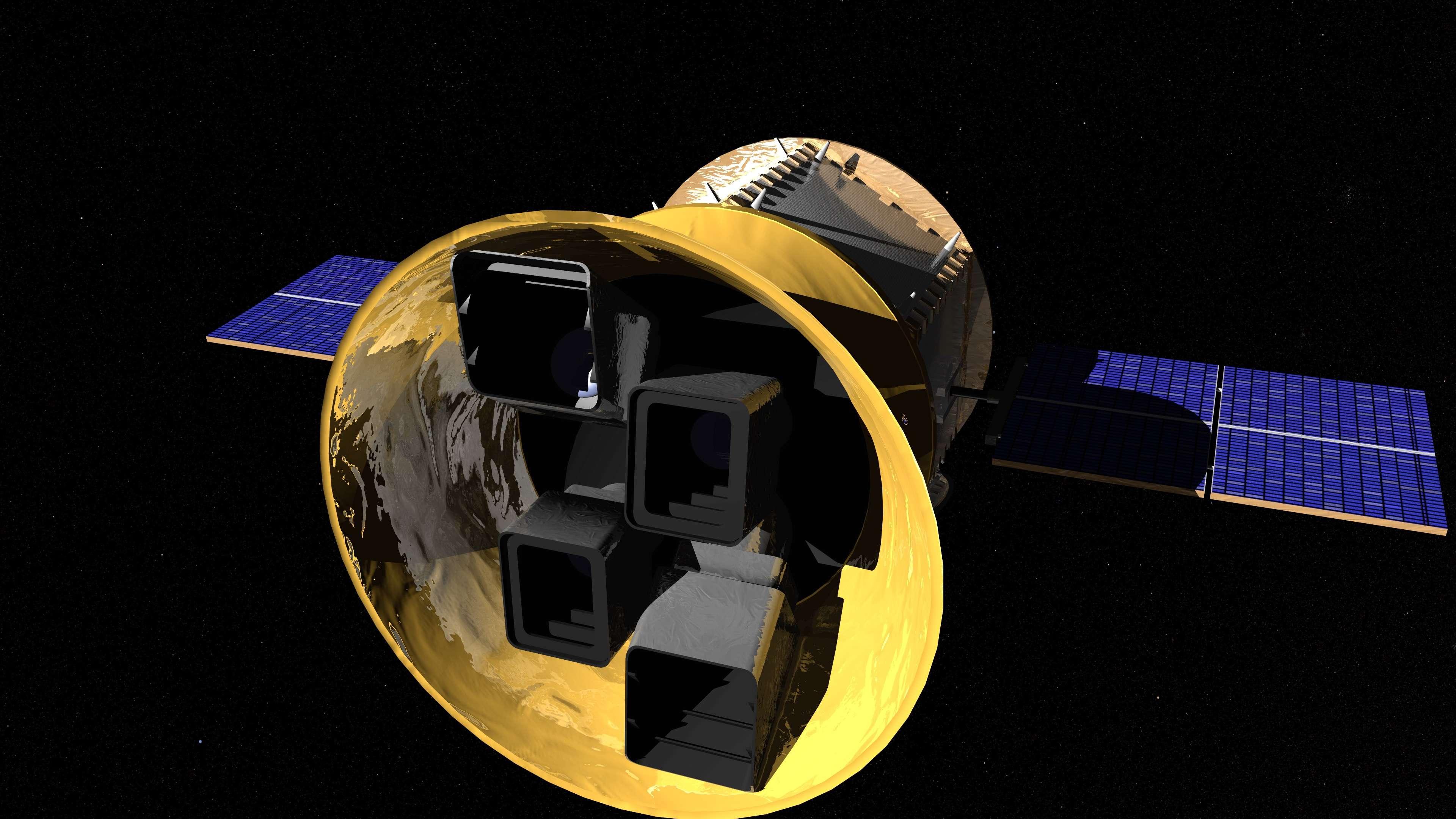 El cazador de exoplanetas TESS.