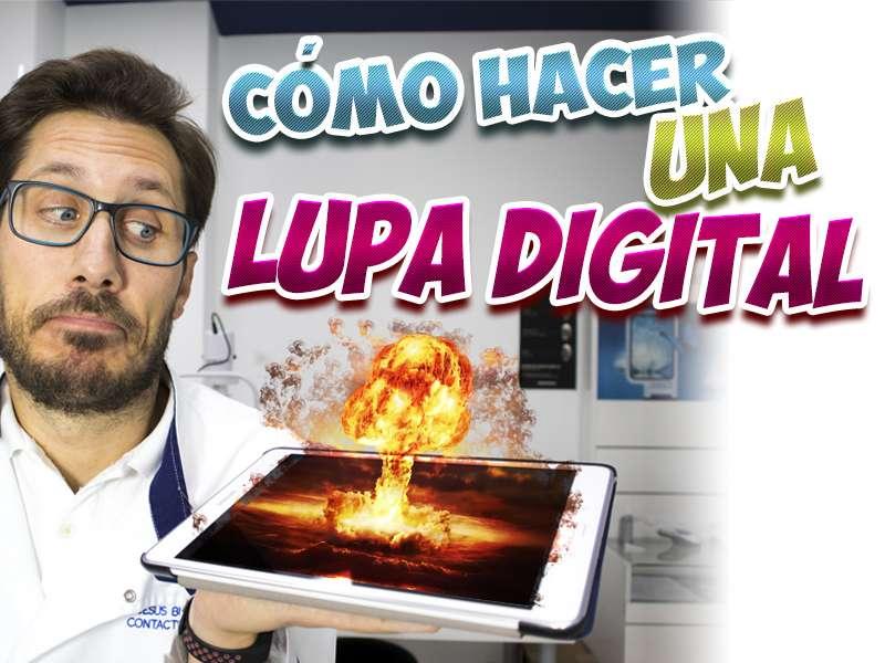 lupa digital smartphone tablet