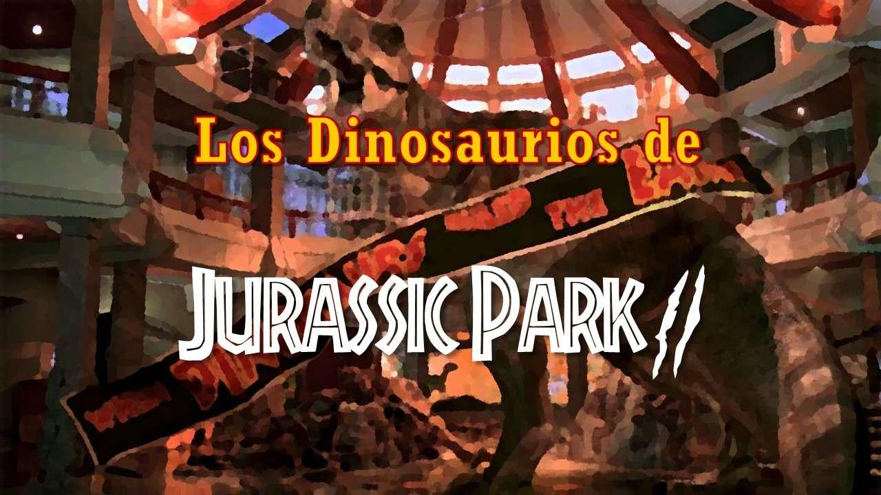 Portada Jurassic Park 2