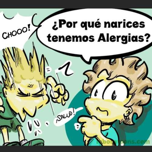 ¿Por qué narices tenemos alergias?
