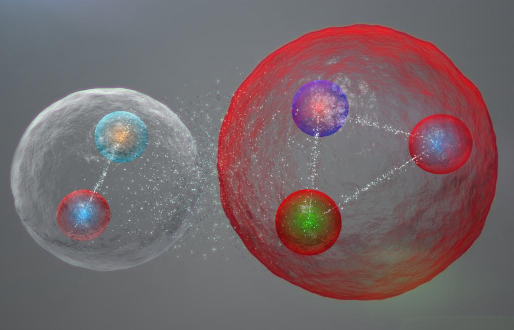 Molécula pentaquark