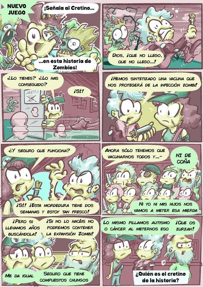Zombies, antivacunas, vacunas 2