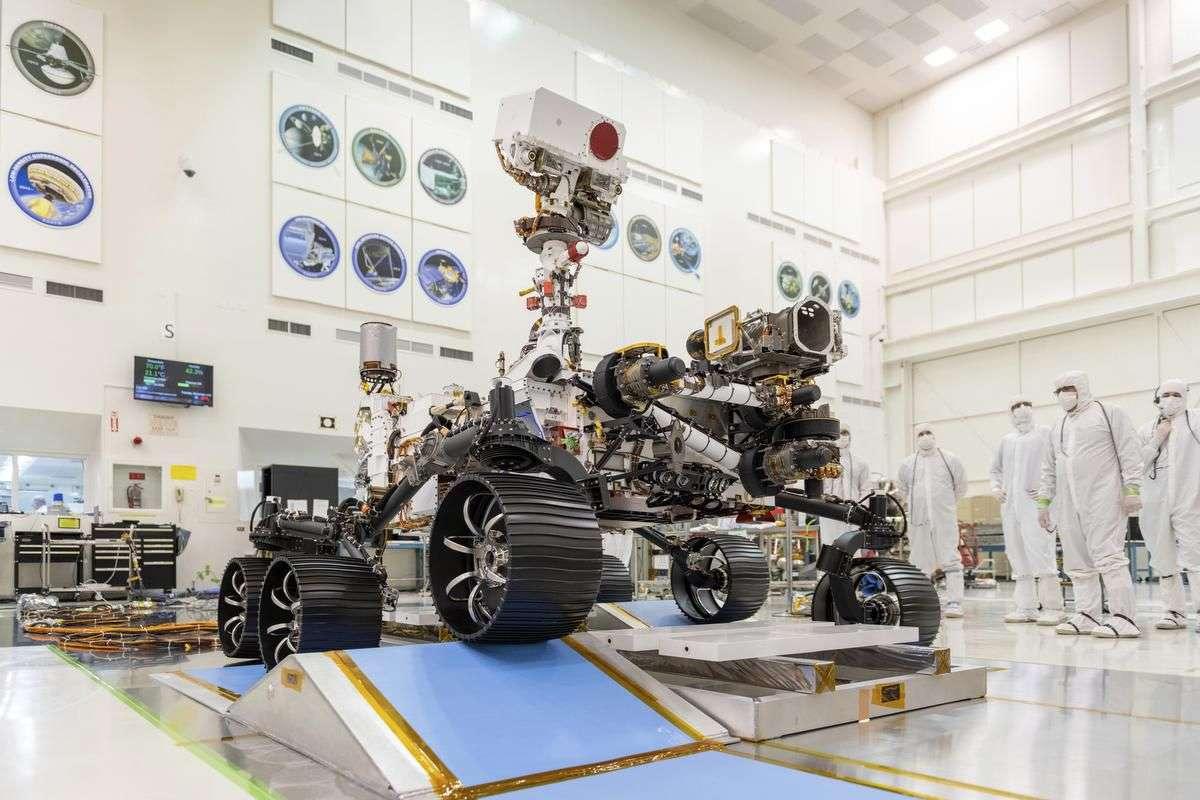 Rover Perseverance - Mars 2020