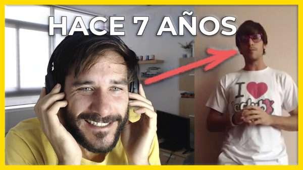 Reacciono a mi primer vídeo ¡7 AÑOS!