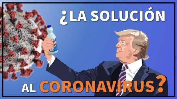 Trump clorox