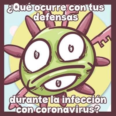 Cómic Coronavirus Sistema Inmunitario