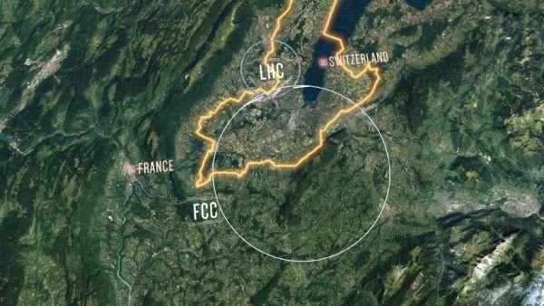 CERN - FCC (Futuro acelerador circular)