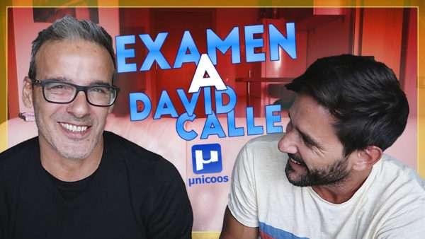 Examen de física a David Calle (Unicoos)