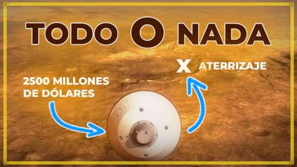 7 minutos de terror - Llega Perseverance de NASA a Marte
