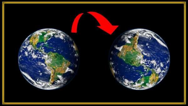 ¿Qué pasaría si la Tierra estuviera al revés?