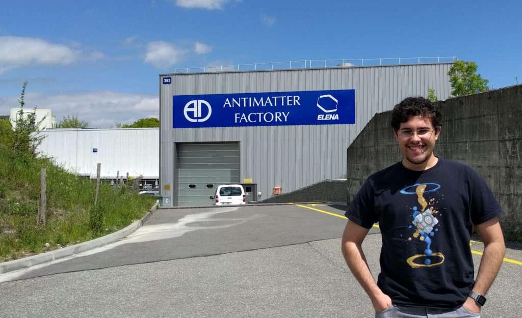 Iban en el decelerador de antimateria